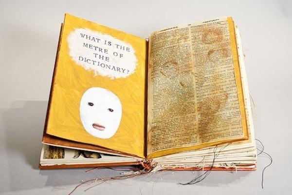 Artist's Book, Mar Goman, Poems of Dylan Thomas