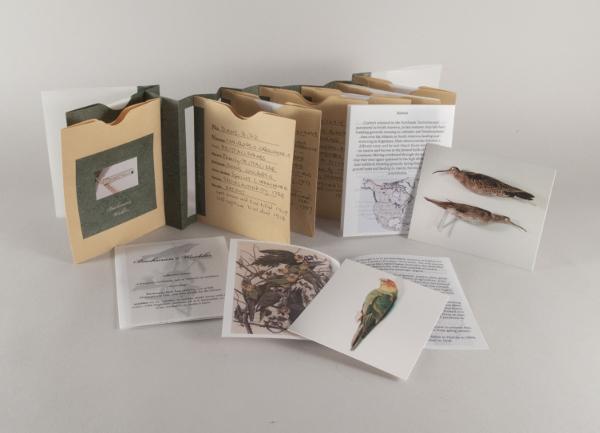 Artist's Book, Alicia Bailey, Extinct/Extant