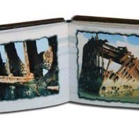 Artist's Book, Jill Timm, Ship Wreck: The Peter Iredale